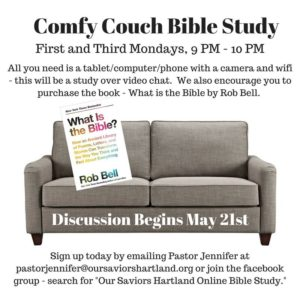 Comfy Couch Bible Study